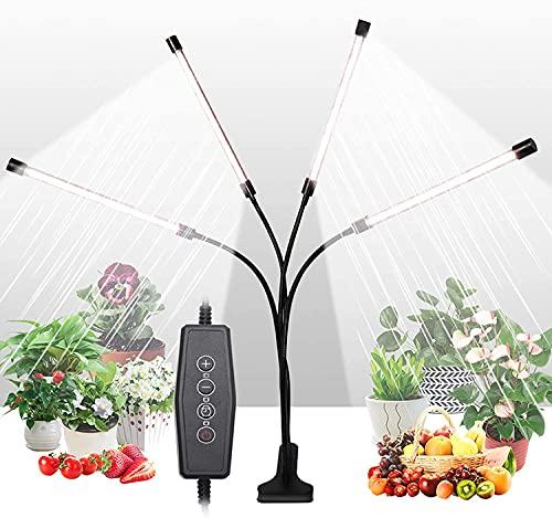LED Grow Lights for Indoor Plants, Upgraded Version 80W Sunlight White Full...