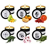 Candles, Scented Candle for Home Scented Rich Aromatherapy Candles for Women Stress Relief...