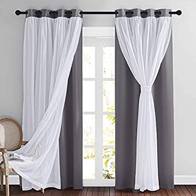 Amazon Com Fancy Curtains For Living Room