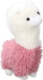 STOBOK Peluche Abbraccio Cuscino Peluche Alpaca Peluche Lama Soffice Cuscino Bianco