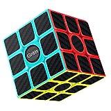 Gritin Cubo Magico, 3x3 Smooth Velocit Cubo Puzzle e Tornitura Facile, Super Resistente con Vivido Cubo Colorato per Gioco di Allenamento Mentale o Idea Regalo per Feste