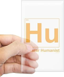 CafePress Secular Humanist Rectangle Sticker Rectangle Bumper Sticker Car Decal