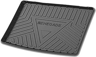 KYLN Tappetini per Bagagliaio per Jeep Renegade 2016~2020 Tappeto Protezione Vasca Baule Antiscivolo Accessori Modifica Interna