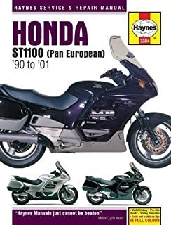 Honda ST1100 Pan European (1990-2001) Service and Repair Manual (Haynes Service and Repair Manuals) by Coombs, Matthew 2nd (second) Revised Edition (2001)