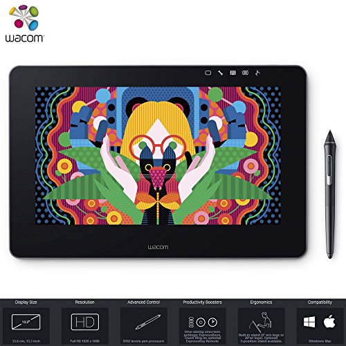 Wacom Cintiqu Pro 13 Graphic Tablet - DTH1320K0 (Renewed)