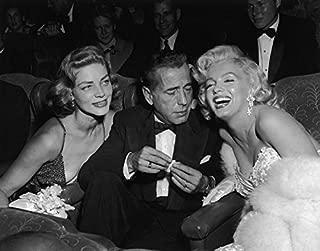 Gatsbe Exchange Humphrey Bogart Lauren Bacall Monroe, Marilyn 8 x 10 Photo