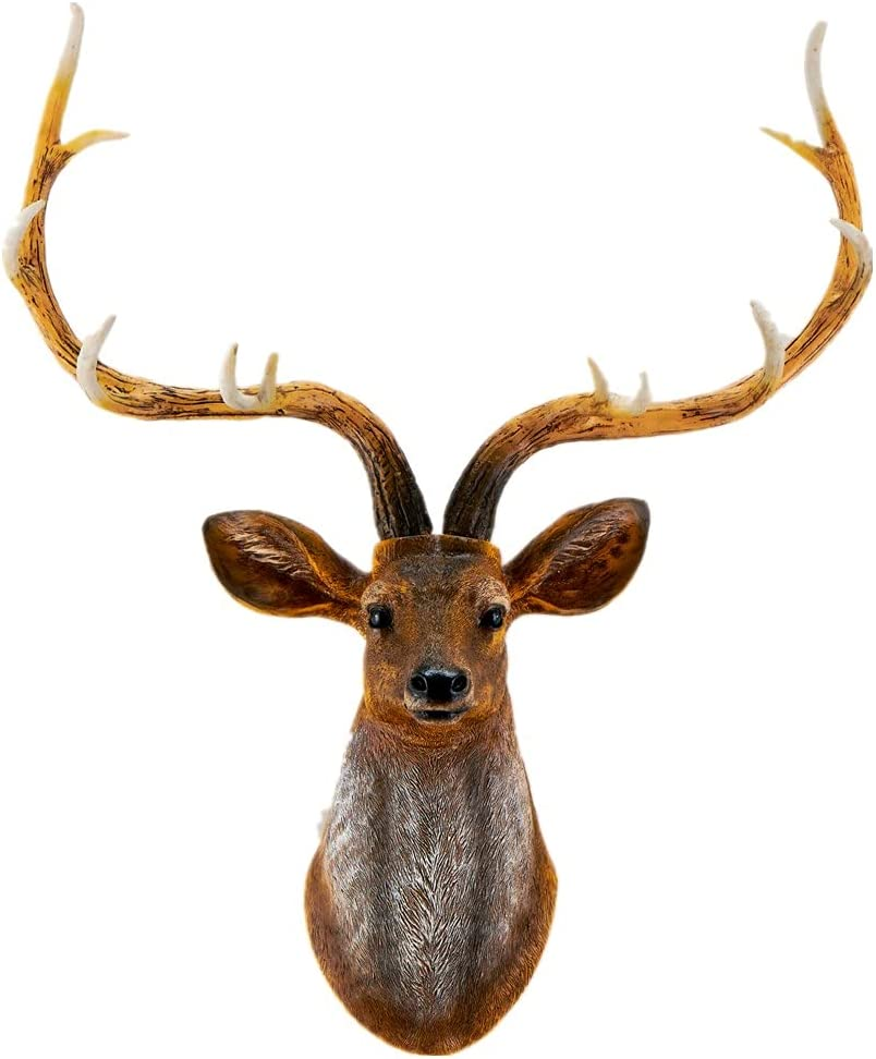 Max 86% OFF YJ Home 2021 Deer Head Wall Decor - Mounted Faux Stag Wal Animal