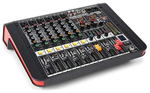 Power Dynamics PDM-M604A Mesa de mezclas 6 entradas para micrófono...