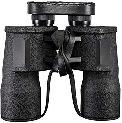 Binoculares Binoculares plegables compactos Binoculares plegables para exteriores 10X50 Visión nocturna de alta definición, un pequeño telescopio Observación de aves, Actividades, Viajes, Aventura