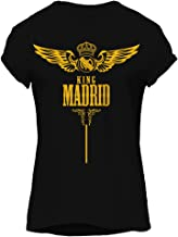 KING Madrid Football-Sports Graphic T-Shirt, Premium Cotton by ZEZIGN