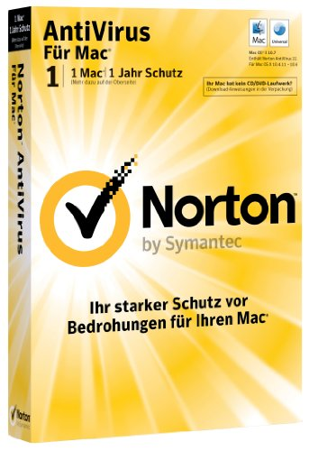 Norton AntiVirus 12.0 - 1 MAC - Upgrade [import allemand]