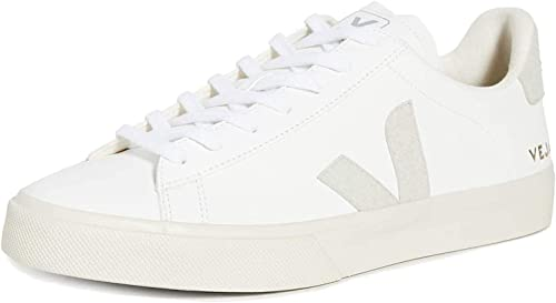 Veja Campo Leather Trainers White