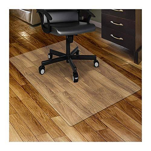 AWSAD Bürostuhl Bodenmatte, Transparenter Teppichschutz Hohe Temperaturbeständigkeit Dauerhaft Langzeitanwendung Harter Bodenschutz (Color : 2mm, Size : 80cmX135cm)