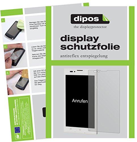 Preisvergleich Produktbild dipos I 6X Schutzfolie matt kompatibel mit BlindShell 2 Folie Displayschutzfolie