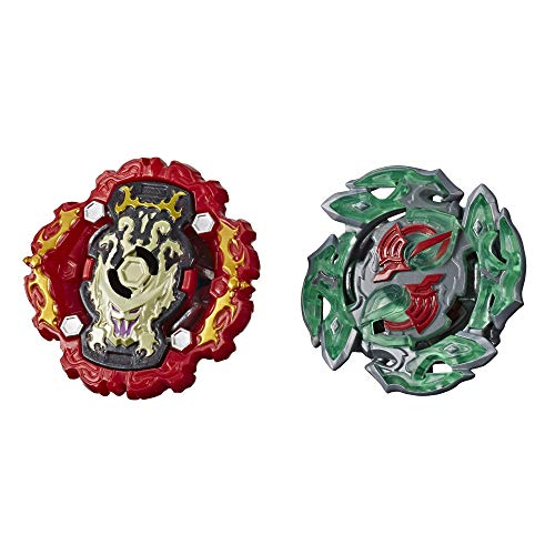 BEYBLADE Burst Rise Hypersphere Dual Pack Viper Hydrax H5 and Dullahan D5 -- 1 Left-Spin and 1 Right-Spin Battling Top Toy, Ages 8 and Up