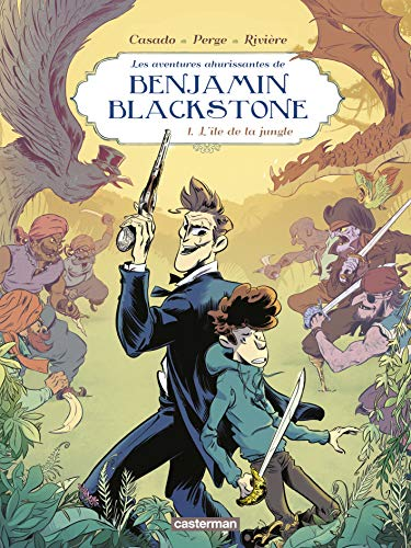 Benjamin Blackstone, Tome 1 : L'île de la jungle