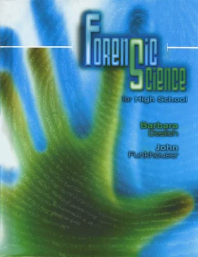FORENSIC SCIENCE FOR HIGH SCHOOL STUDENT EDITION product image