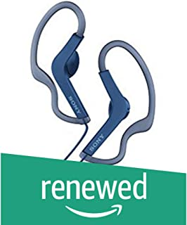 (Renewed) Sony MDR-AS210 Open-Ear Active Sports Headphones (Blue)