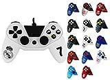 Manette pour PS4 Pro5 controller - Manette pour Playstation 4 Pro 5 - Licence officielle Real Madrid