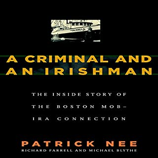 A Criminal and an Irishman audiobook cover art