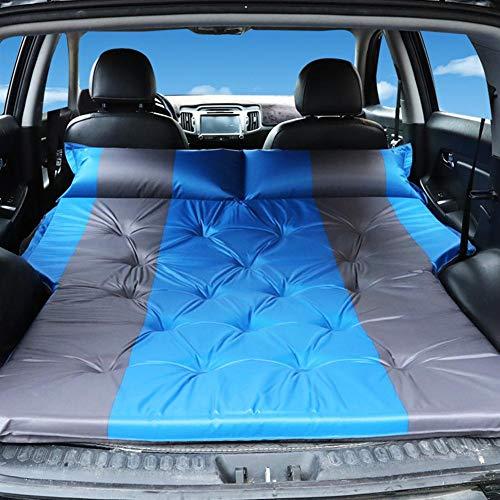 libelyef Auto Automatische Luftmatratze - Rücksitz Luftbett SUV Luftmatratze, Tragbare Camping Outdoor Matratze mit Aufbewahrungstasche - Schlafen auf Autoreisen, Reisen, Camping für Paare, Kinder