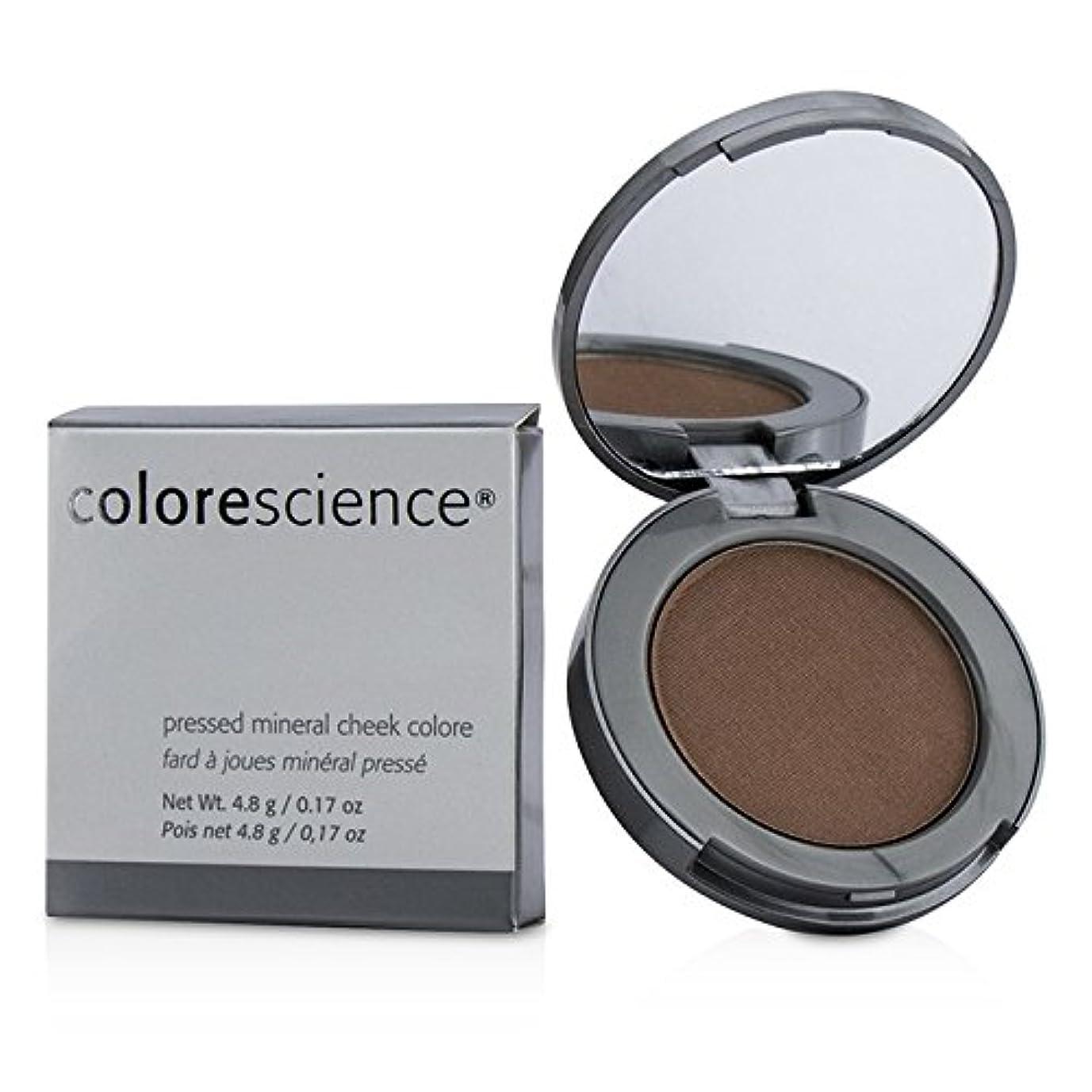 申請者同情的十分カラーサイエンス Pressed Mineral Cheek Colore - Adobe 4.8g/0.17oz並行輸入品