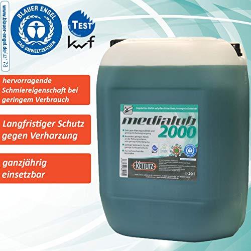 """Sägekettenöl Bio 20 Liter KETTLITZ-Medialub 2000\""""Blauer Engel\"""" nach neuester RAL-UZ 178"""