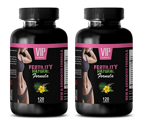 Fertility Supplements for Women Best Seller - Fertility Natural Formula - for Women's ONLY - folic Acid Plus - 2 Bottles 240 Capsules