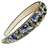 Diadema para mujer con cristales brillantes de FodatTM