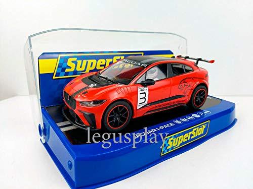 Slot Car Scalextric Superslot H4042 Compatible Jaguar I-Pace Etrophy #3