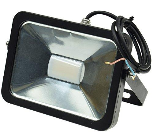 Projecteur LED Slim Line 30W, 12-24V =, protection IP65, 2400Lumens, 4000K, Blanc neutre