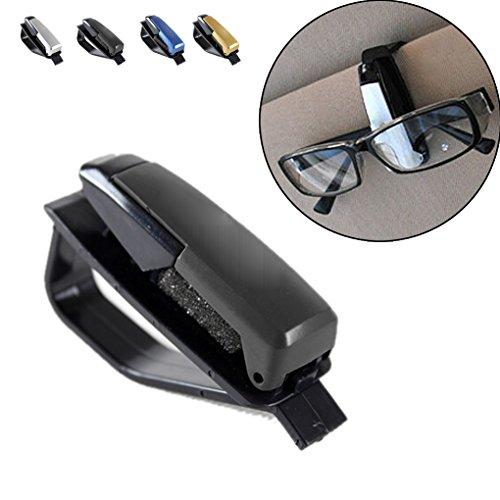 Glazen van de zonnebril zonneklep Card Pen Clip Auto Accessoires