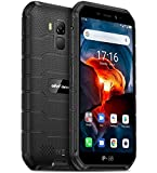 Rugged Smartphone (2020), Ulefone Armor X7 PRO Android 10 Cellulare Antiurto IP68, Quad-Core 4GB+32GB, Telefono Resistente 13MP Fotografia Subacquea, Batteria 4000mAh, NFC/GPS/DUAL SIM/WIFI Nero