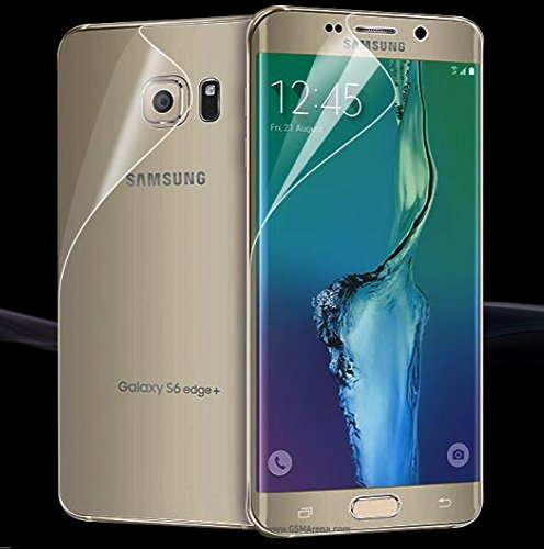 Case Creation Samsung S7 Edge Screen Guard, Samsung Galaxy S7 Edge Full Screen Coverage Screen Protector Buff Guard Front and Back