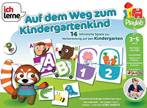 Jumbo 18148 - Ich lerne auf dem Weg zum Kindergartenkind, Lernspiele