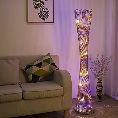 SUZYN Lámparas De Piso Llevada moderna lámpara de pie de la torre de aluminio Lámpara de pie for sala de estar for luces Salón casero decorativo Lámparas de pie luminarias AC90-26V