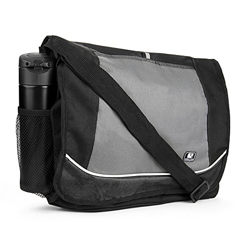 Back to School Bags Messenger Bag Lightweight for College High School Elementary School Black