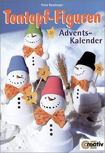 Tontopf-Figuren Adventskalender