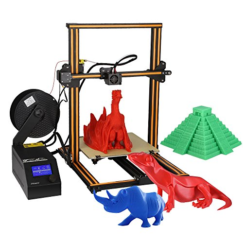 Creality CR-10 3D Printer DIY 300 * 300 * 400mm Print Size Supports PLA/ABS/TPU/Copper/Wood/Carbon Fiber Filament UK Plug