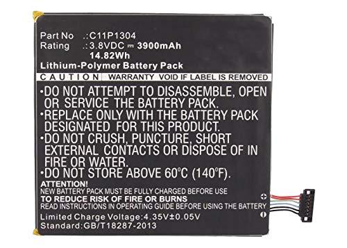 Synergy Digital Tablet Battery, Works with Asus Z580C-B1-BK Tablet, (Li-Pol, 3.8V, 3900 mAh) Ultra High Capacity Battery
