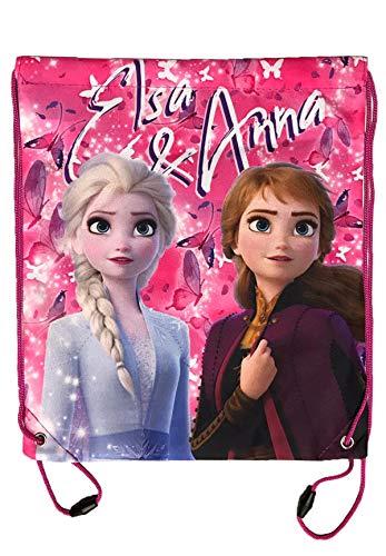 Disney Frozen 2 - Die Eiskönigin Turnbeutel Schuhbeutel Beutel Sport-Tasche