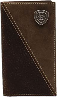 Ariat Men's Rodeo Wallet/Checkbook Cover A3544502