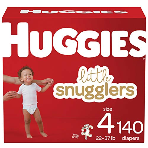 Huggies Little Snugglers Baby Diapers Size 4 140 Ct