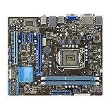 WERTYU Placa base para juegos para ASUS P8H61-M LE Socket LGA 1155 DDR3 16 GB soporte I3 I5 I7 UATX placa base de escritorio integrada