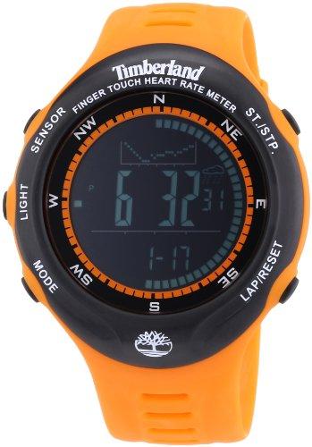 Timberland TBL.13386JPOB/02 - Reloj Digital de Cuarzo para Hombre con Correa de plástico, Color Naranja