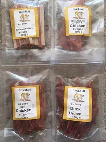 Natural Perro Delicias VARIEDAD/Paquete a granel - PARA PERROS (stockbull Natural Carne...