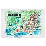 artboxONE Poster 30x20 cm Städte Montreal Illustrierte