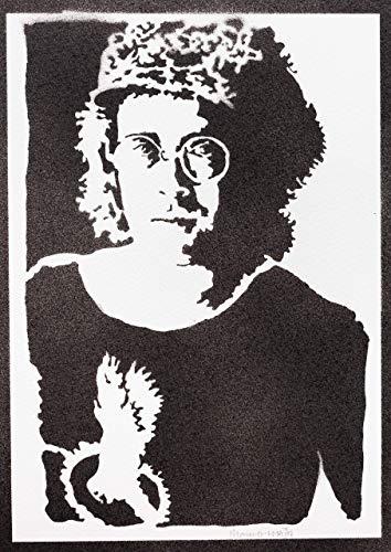 Elton John Poster Plakat Handmade Graffiti Street Art - Artwork