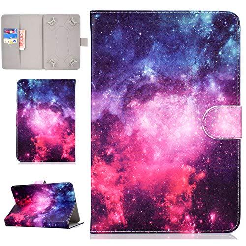 "XTstore Funda Universal para Tablet de 8"", Carcasa Flip Case Cubierta Protectora para Fire HD 8, Samsung Galaxy Tab S2 8.0,Huawei MediaPad T3 8, Lenovo Tab 3 850F/Tab4 8, iPad Mini 4/3/2/1, Estrella"