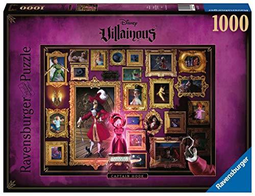 Puzzle Villainous: Capt. Garfio, 1000 piezas, Disney (15022)